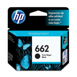 Cartridge Tinta HP 662 Negro 2ml CZ103AL