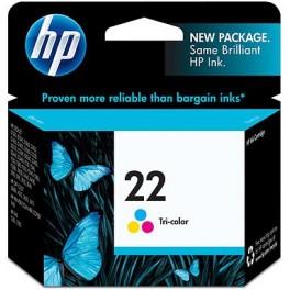 Cartridge Tinta HP 22 Color 6ml C9352AL
