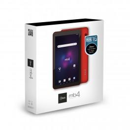 "Tablet 7"" Microlab MB4 Plus Multimedia Rojo 8760"