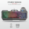 Trust Teclado Teclado GXT 856 Torac Illuminated Gaming